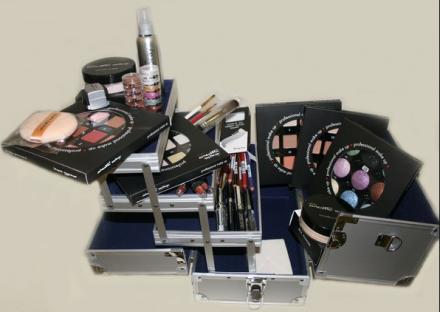 Набор визажиста №1, чемодан малый Cinecitta Alum proffessional suitcase: фото