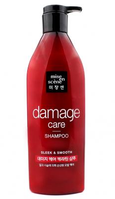 Шампунь для поврежденных волос MISE EN SCENE Damage Care Shampoo 680 мл: фото