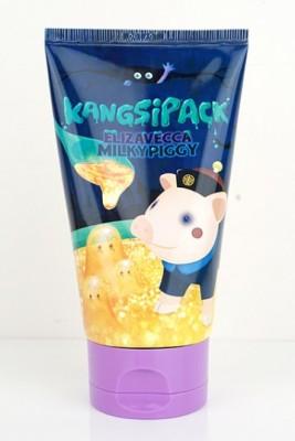 Маска очищающая с золотым порошком ELIZAVECCA Milky Piggy Kangsipack 120мл: фото