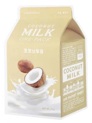 Тканевая маска молочная с кокосом A'PIEU Coconut Milk One-Pack 21г: фото