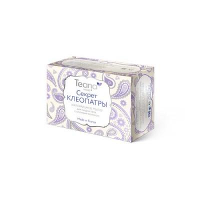 Натуральное мыло для сухой и чувствительной кожи лица и тела с ослиным молоком TEANA 100г: фото