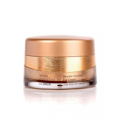 Крем для глаз антивозрастной THE SAEM Snail Essential EX Wrinkle Solution Eye Cream 30мл: фото
