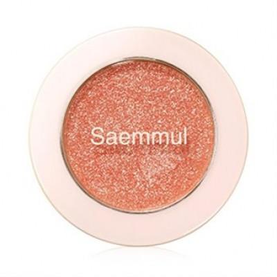 Тени для век с глиттером THE SAEM Saemmul Single Shadow Glitter OR03 1,6гр: фото