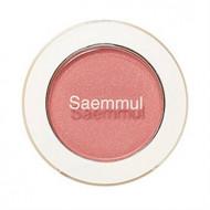 Тени для век мерцающие THE SAEM Saemmul Single Shadow Shimmer CR04 Splash Coral 2гр: фото