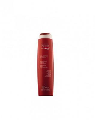 Шампунь с гидролизатами шелка и кератином Kaaral Baco color collection Colorpro Shampoo 300мл: фото