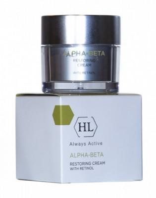 Крем восстанавливающий Holy Land Alpha-Beta & Retinol Restoring Cream 50 мл: фото