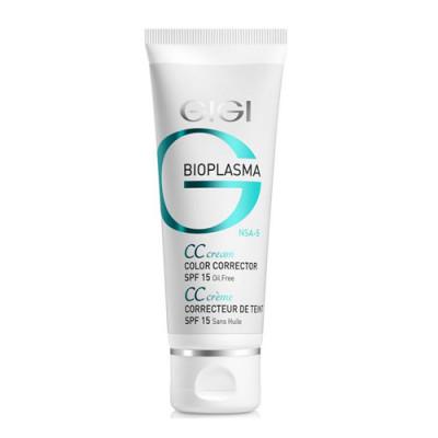 Крем для коррекции цвета кожи GIGI Bioplasma CC Cream SPF15 75 мл: фото