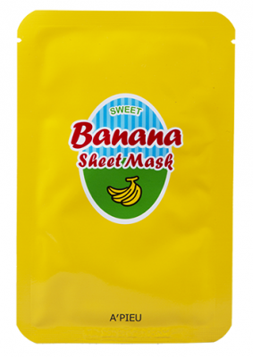Тканевая маска с экстрактами банана и меда A'PIEU Banana & Honey Sheet Mask: фото