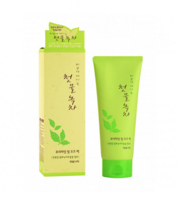 Маска-пленка для лица очищающая Welcos Green Tea Purifying Peel Off Pack 150мл: фото