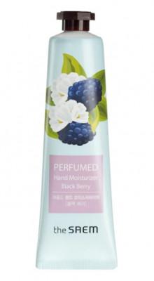 Крем для рук парфюмированный увлажняющий THE SAEM Perfumed Hand Moisturizer Black Berry 30мл: фото