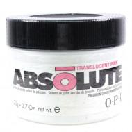 Пудра прозрачная розовая OPI Аbsolute Translucent Pink AB506 300 г: фото