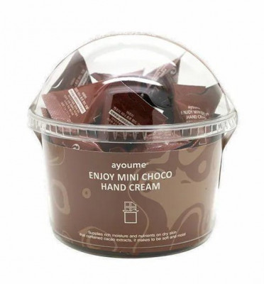 Набор кремов для рук шоколад AYOUME ENJOY MINI CHOCO HAND CREAM set 200шт: фото