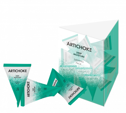 Набор масок для лица АРТИШОК J:ON Artichoke Deep Moisture Sleeping Pack 5г*20шт: фото