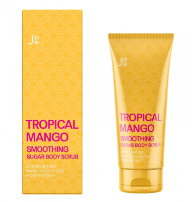Скраб для тела МАНГО J:ON Tropical Mango Smoothing Sugar Body Scrub 250г: фото