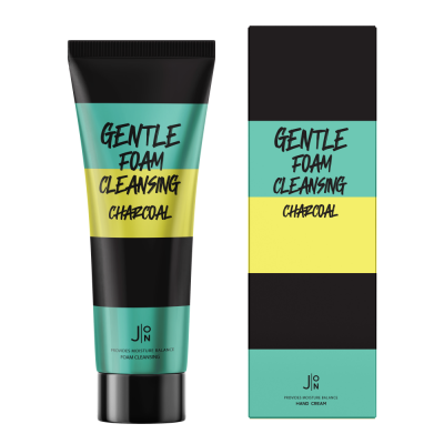 Пенка для умывания УГОЛЬ J:ON Gentle Foam Cleansing Charcoal 100мл: фото