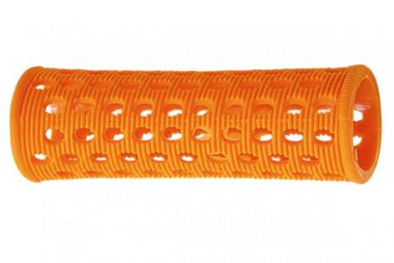 Бигуди пластиковые Sibel 23мм оранжевые 10шт: фото