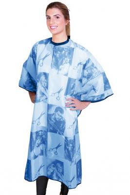 Пеньюар синий EUROSTIL Scissors 150x126см: фото