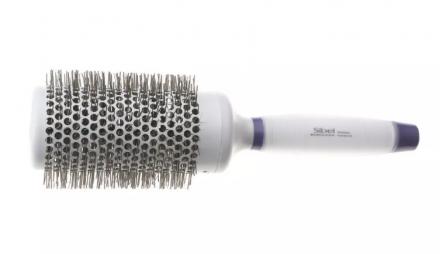 Термобрашинг для укладки волос с силиконовой ручкой Sibel 53мм: фото