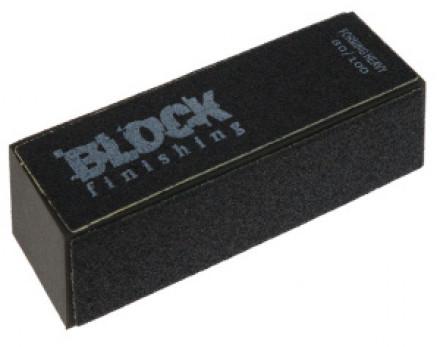 Пилочка Sibel BLOCK полировочная черная: фото