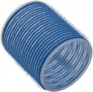Бигуди на липучке Sibel 56мм голубые 6шт: фото