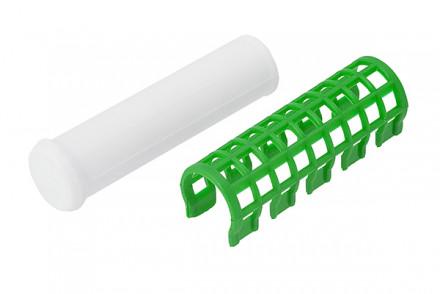 Термобигуди с зажимами Harizma Professional 23мм зеленый 6шт: фото