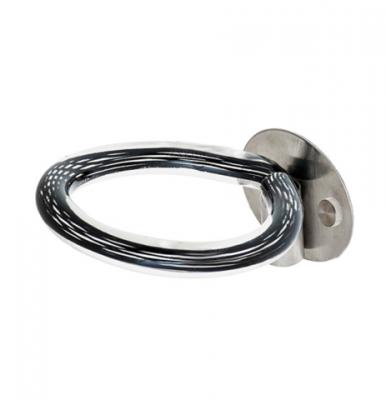 Фенодержатель - кольцо Harizma Professional (металл+пластик): фото