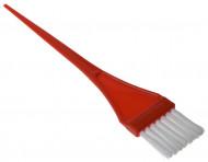 Кисть для окрашивания узкая EUROSTIL красная: фото