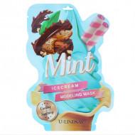 Моделирующая двуступенчатая маска c ароматом мяты U:Lindsay Mint Ice Cream Modeling Mask 50г+5г: фото