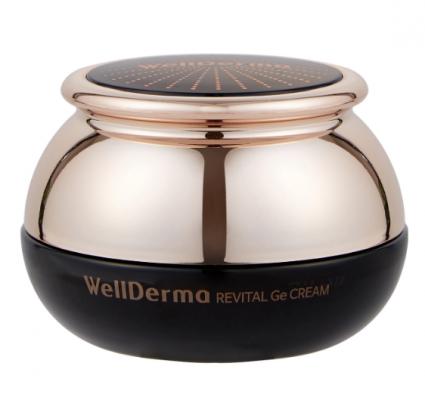 Крем для лица ВОССТАНОВЛЕНИЕ WELLDERMA Revital Ge Cream 50г: фото
