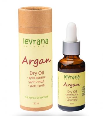 Сухое масло Аргании для волос Levrana 30мл: фото
