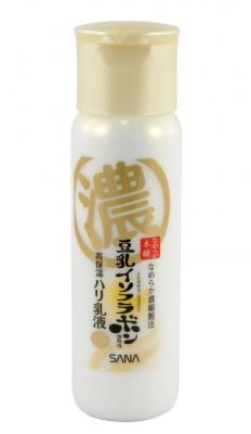 Молочко увлажняющее и подтягивающее с ретинолом и изофлавонами сои Sana Wrinkle milk 150мл: фото