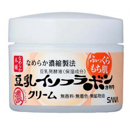 Крем ночной питательный с изофлавонами сои Sana Soy milk night cream 50г: фото