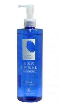 Лосьон очищающий для снятия макияжа Momotani Clear cleansing lotion 390мл: фото