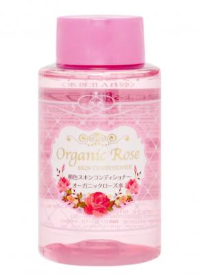 Лосьон-кондиционер для кожи лица с экстрактом розы Meishoku Organic rose skin conditioner 200мл: фото