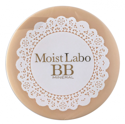 Пудра компактная минеральная Meishoku Moisto-labo bb mineral powder тон 01 натуральный беж 15г: фото