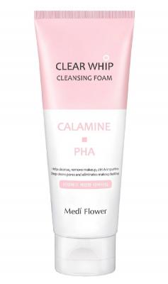 Пенка для умывания минеральная MediFlower Medi flower clear whip cleansing foam calamine 120мл: фото