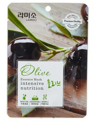 Маска с экстрактом оливы La Miso Essence mask premium quality olive 23г: фото