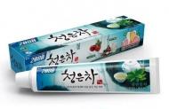 Зубная паста Восточный чай мята KeraSys Dental clinic 2080 chungeun cheong 120г: фото