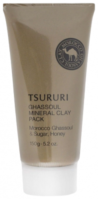 Крем-маска для лица с глиной BCL Tsururi mineral clay pack 150г: фото