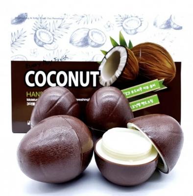 Набор кремов для рук с кокосом 3W Clinic Coconut hand cream 30г*6шт: фото